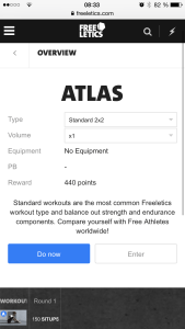 Freeletics 2x2 Free Training Web