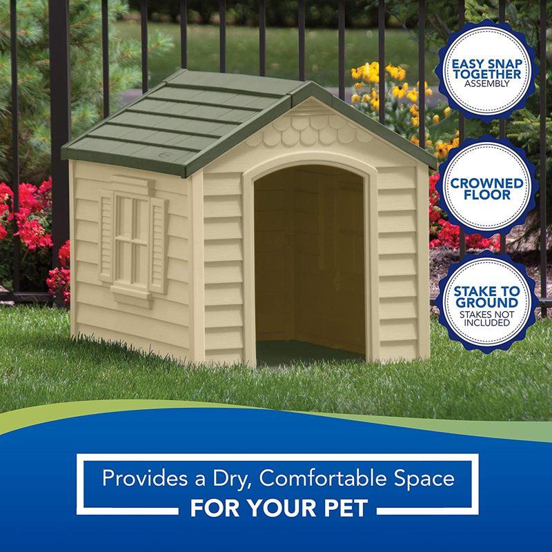 Suncast Outdoor Dog House 1 1