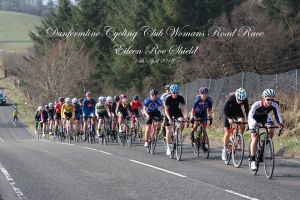 The Dunfermline Womens road race in 2018