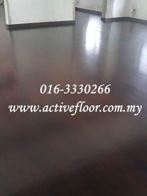 Wood Floor Staining Malaysia