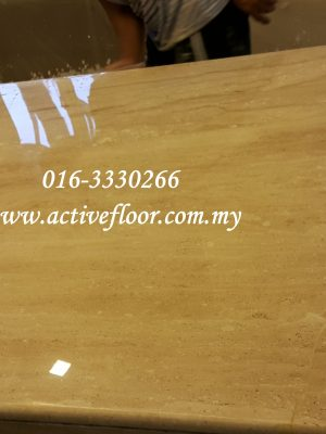 Marble Table After Polishing