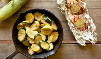 Healthy campfire recipes