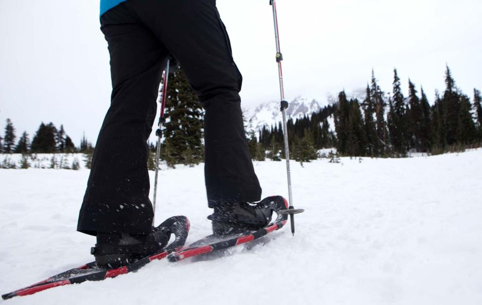 snowshoeing in washington