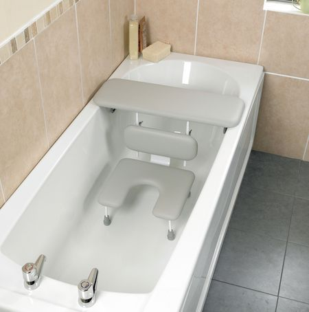 Ascot Padded Bath Board And Seat For Comfort And Safety