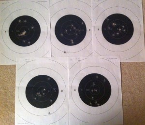 My five targets