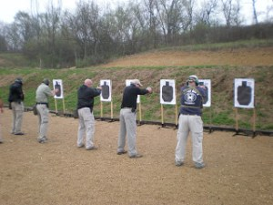 Pistol work