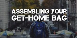 Assembling-Get-Home-Bag-Logo