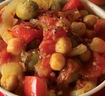 saffron chickpea stew, healthy dinner recipes