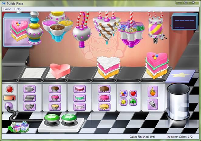 Free Cake Making Games