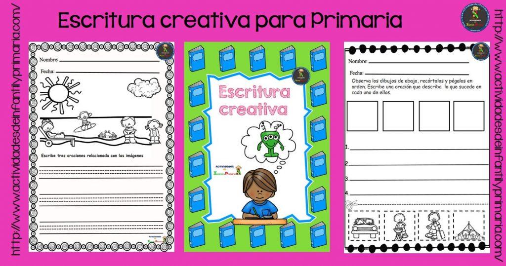 Fichas escritura creativa para Primaria