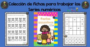 Colección de fichas para trabajar las series numéricas