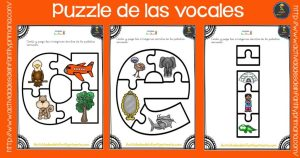 Puzzle de las vocales