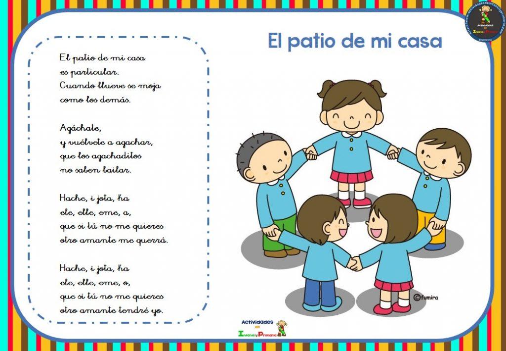 Canciones infantiles para ni os y ni as 6 for Casa para patio ninos