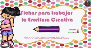 Fichas para trabajar la escritura creativa