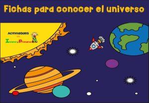 Fichas para conocer el universo en primaria