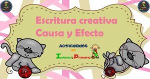 Escritura creativa Causa y Efecto
