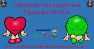 Colección de  fichas educativas Figuras Geométricas