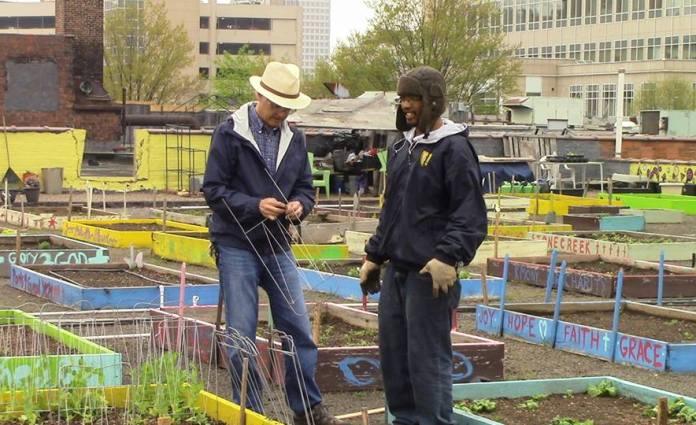 homeless garden