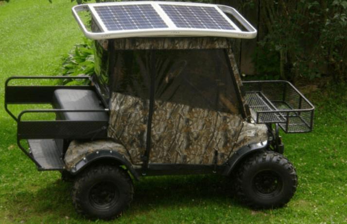 Benefits of Solar Panel Golf Cart