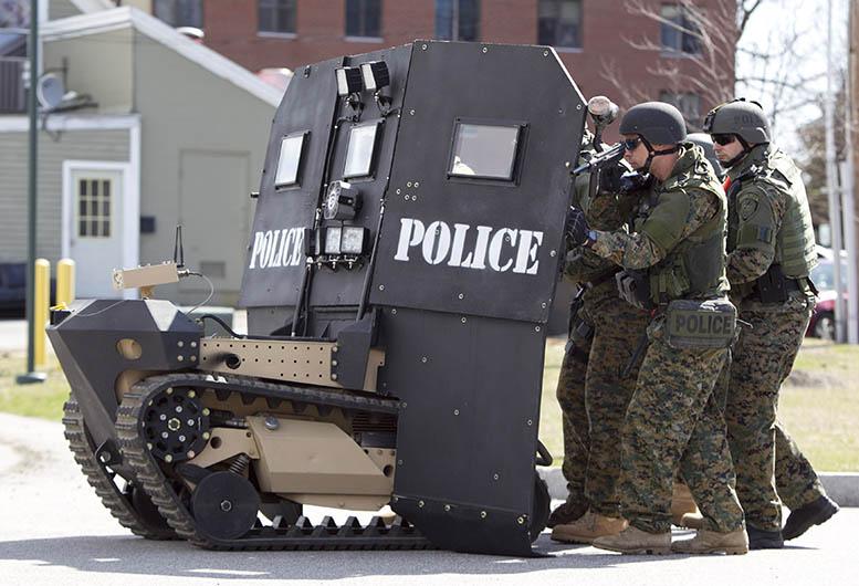 A SWAT robot