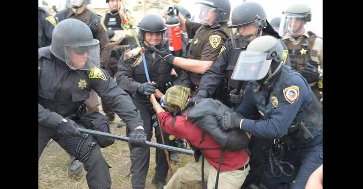 Someone Just Donated $2.5 Million to Bail Out Everyone Arrested at Standing Rock Dapl-arrests