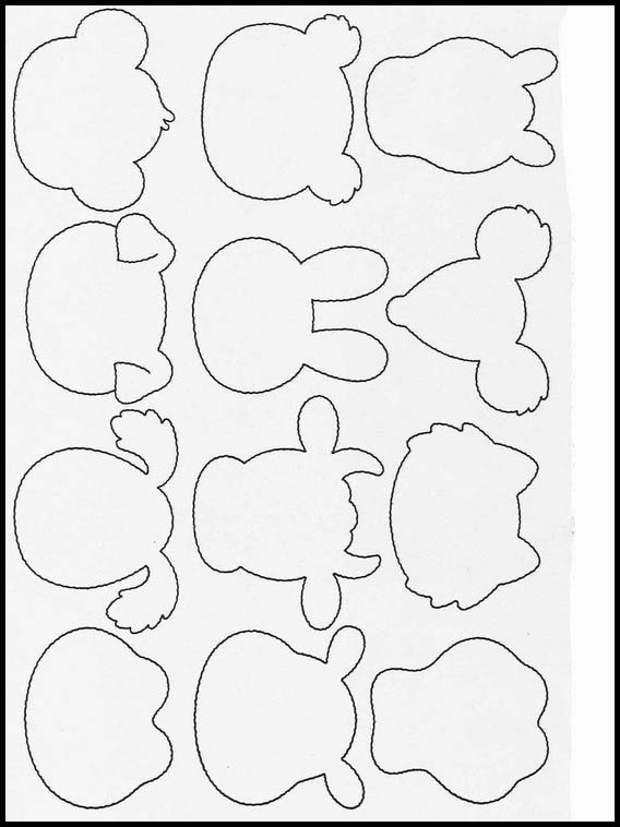 Exercises For Children Complete The Drawings 24