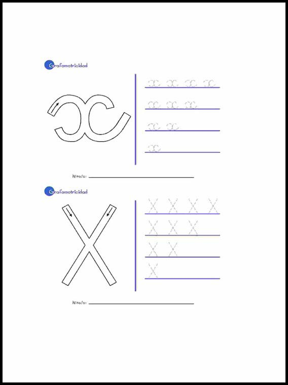 Printable Worksheets For Kids Alphabet To Learn Spanish 50