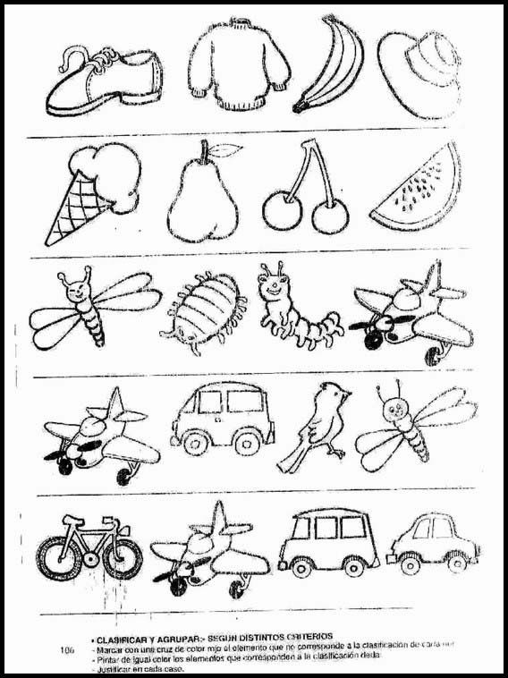 Printable Exercises For Kids Logic Drawings To Learn