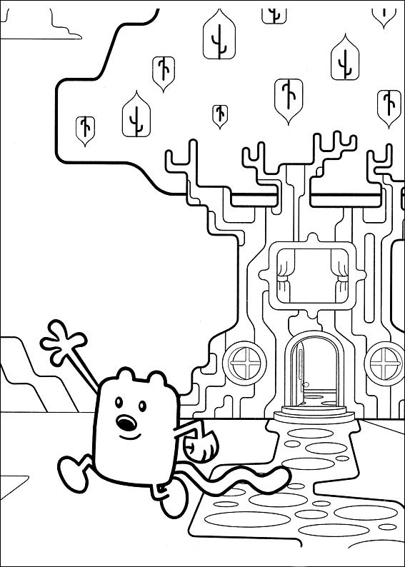wow wow wubbzy coloring pages # 26