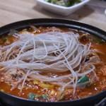 【人生最高レストラン 韓国グルメ 】IKKO 南大門 手打ちうどんカルグスク『巨済食堂』のお店はどこ?