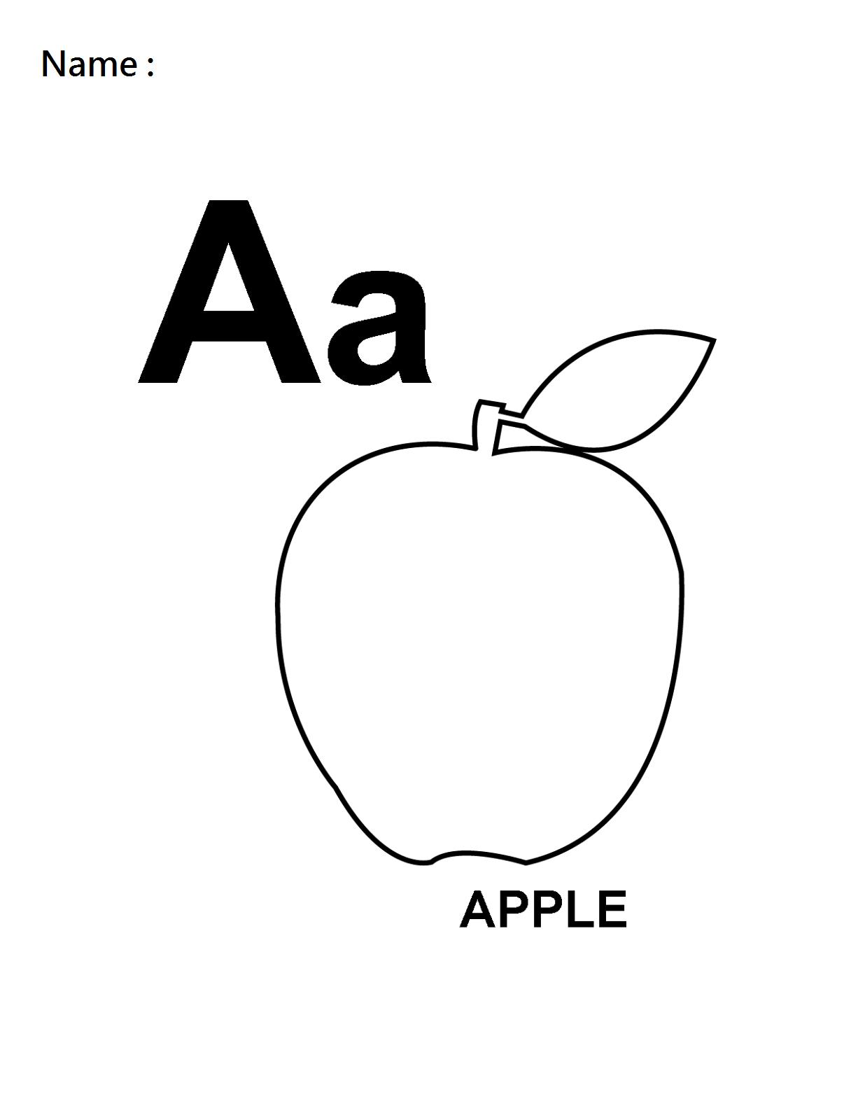 Apples Worksheet Printables