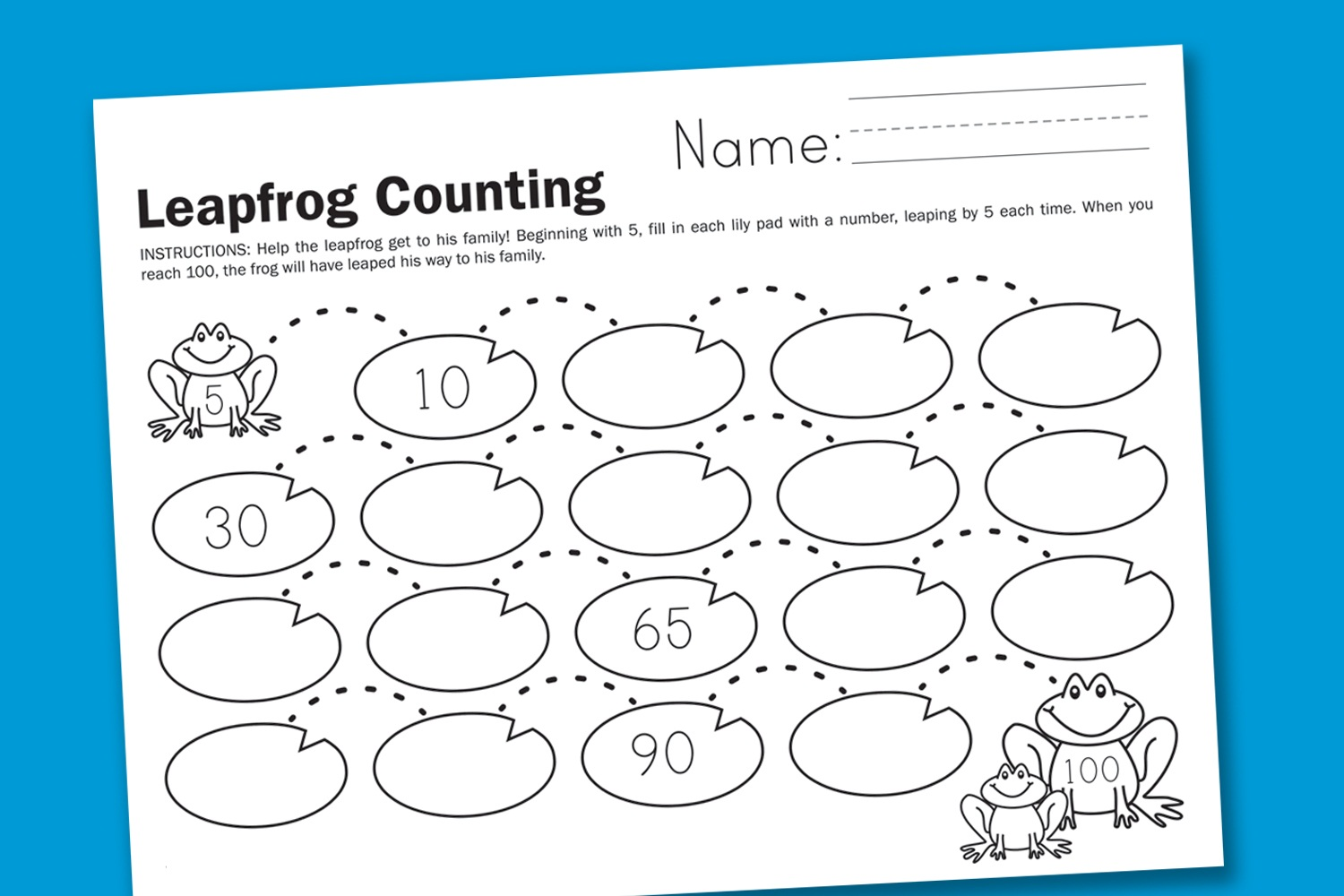 Counting In 2s Worksheet
