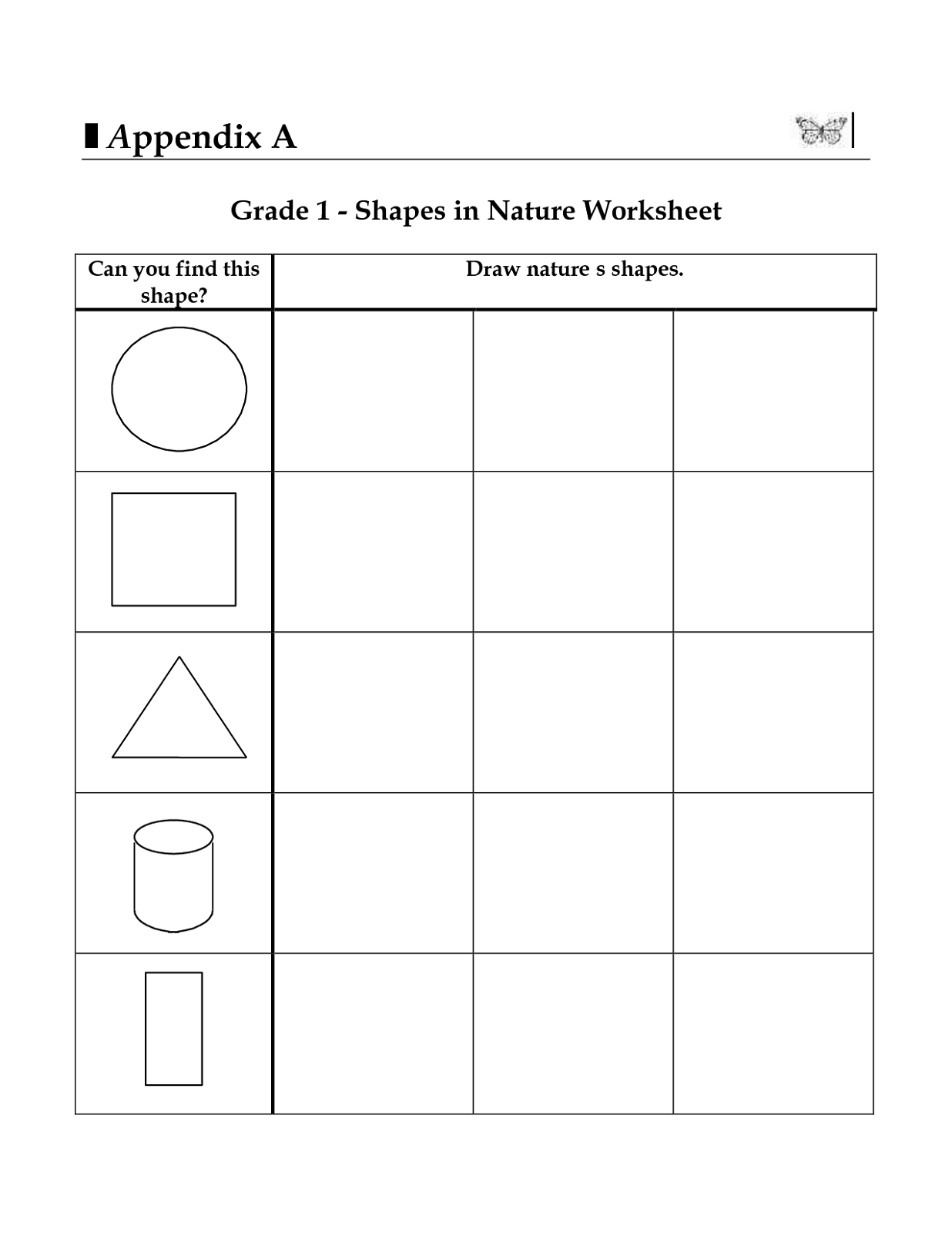 Grade 1 Worksheets For Learning Activity