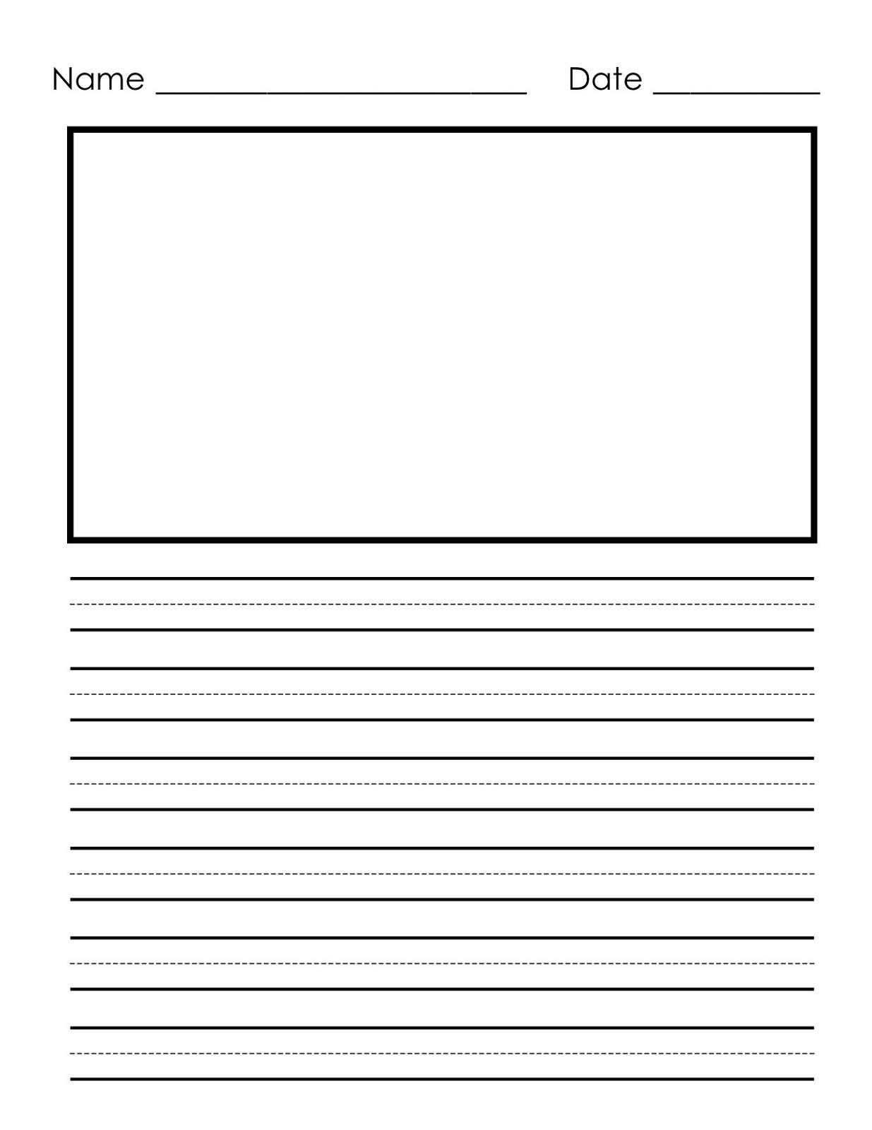 Handwriting Worksheet For 1st Grade