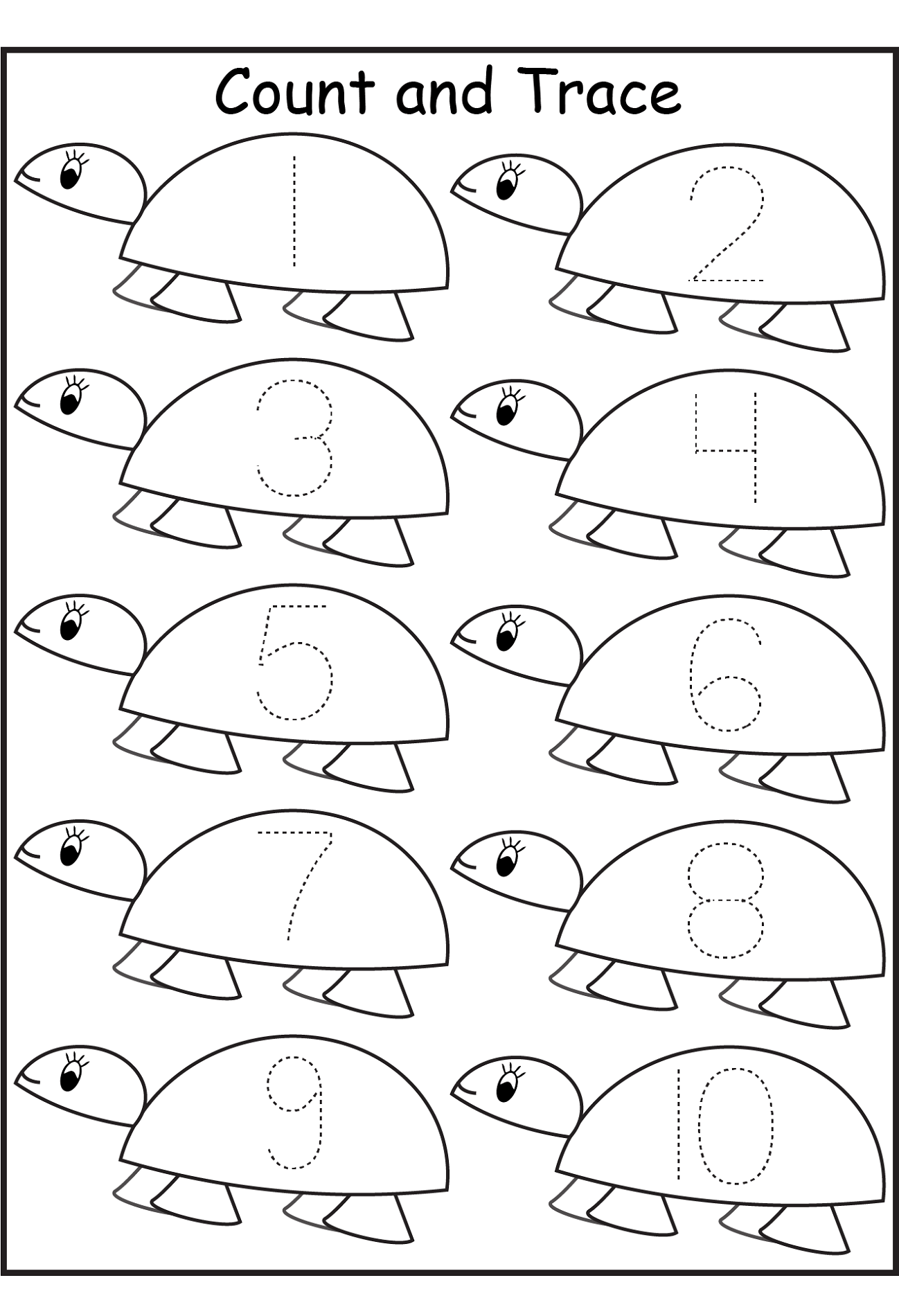 Free Preschool Printable Activity