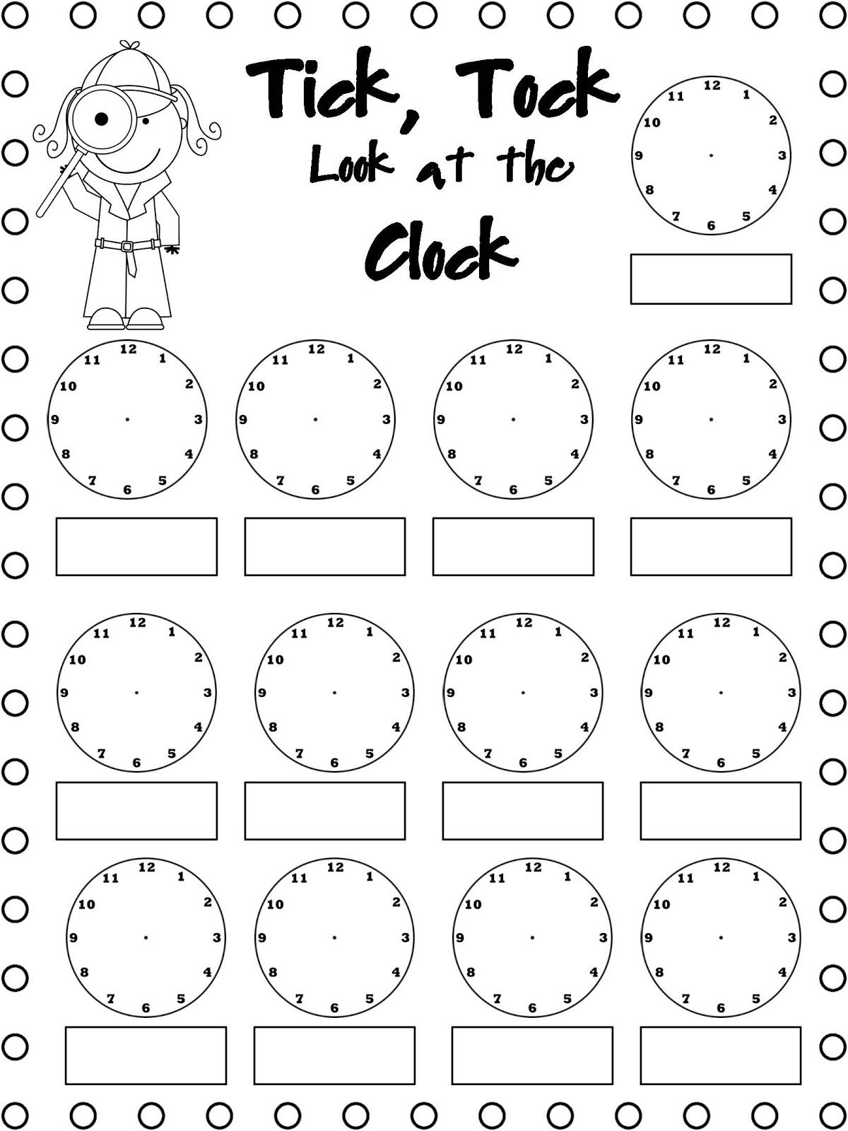 Free Easy Elapsed Time Worksheets