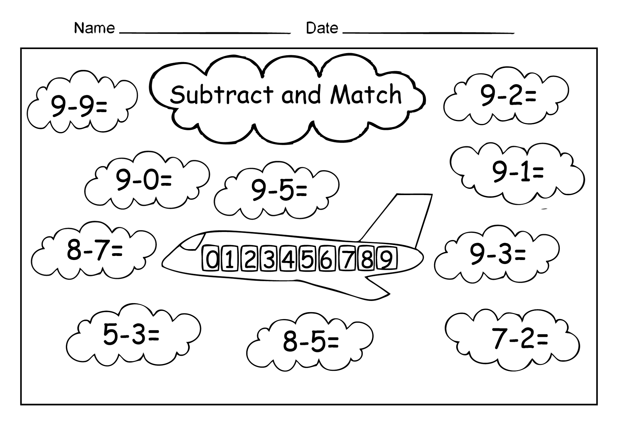 Free Coin Matching Worksheet Math