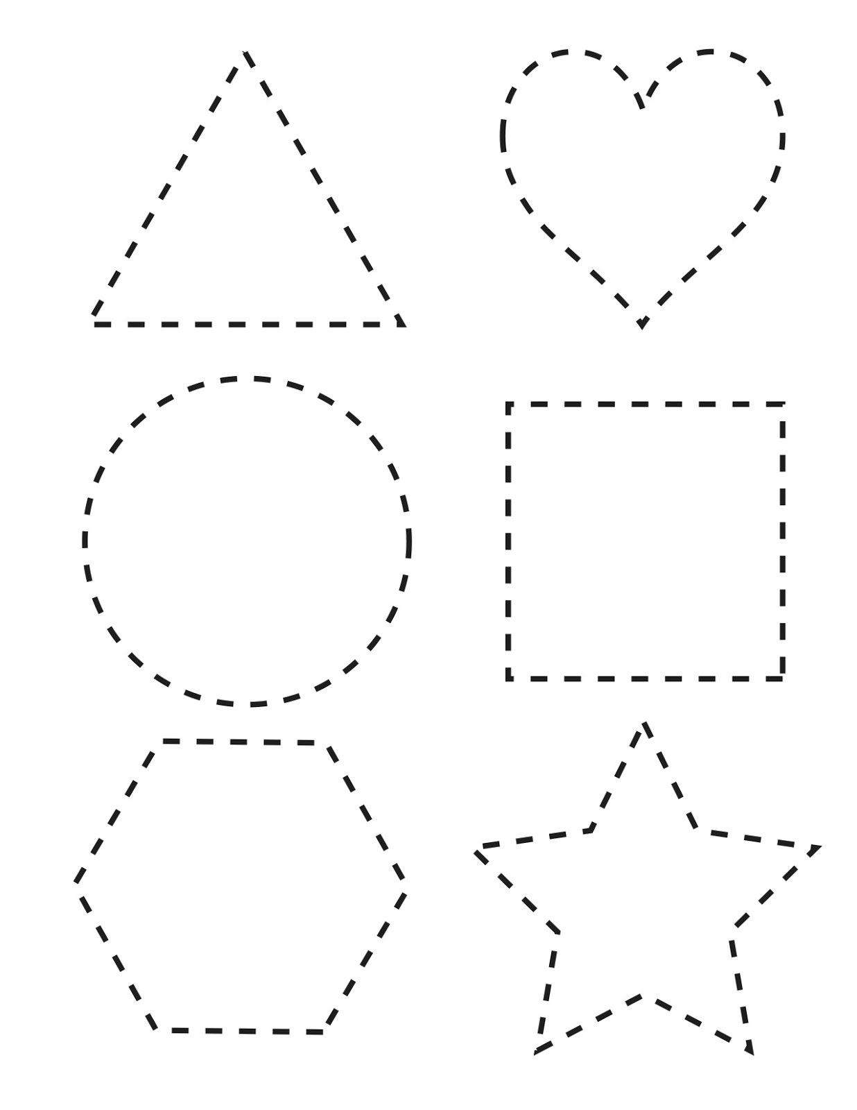 Free Shapes Worksheets Free Worksheets Library