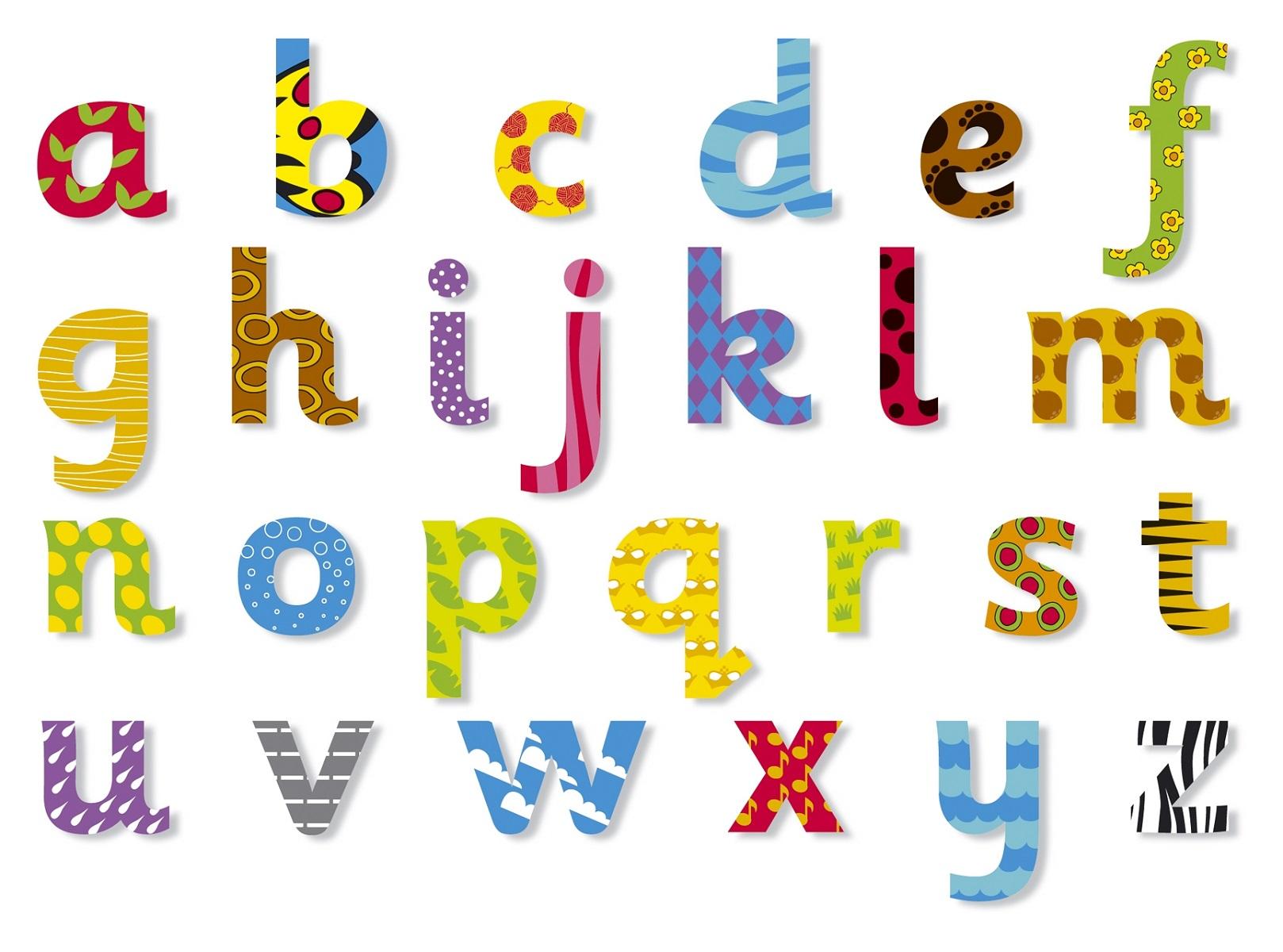 Lowercase Alphabet Templates