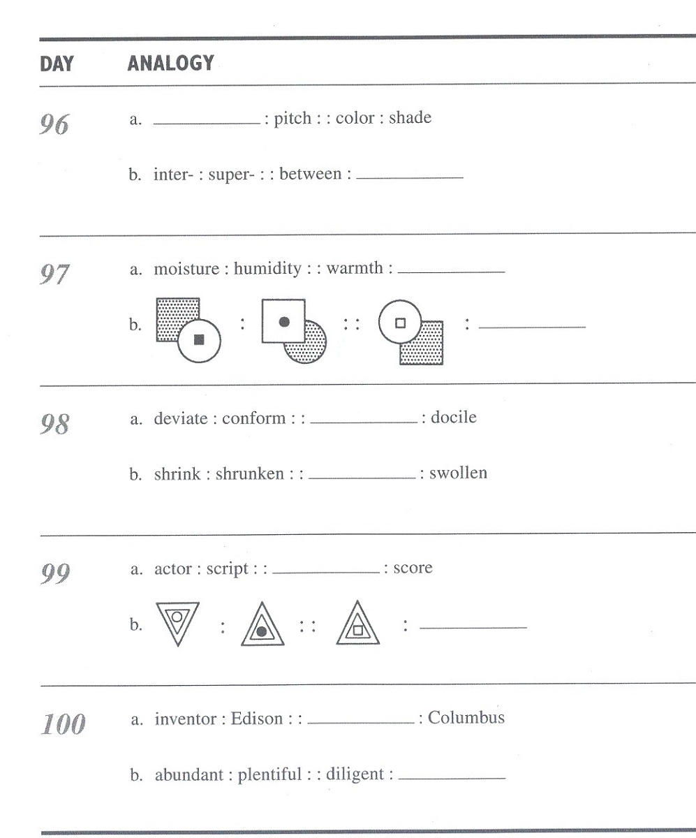 Worksheets Analogies Worksheet 6th grade analogies worksheets free library download worksheets