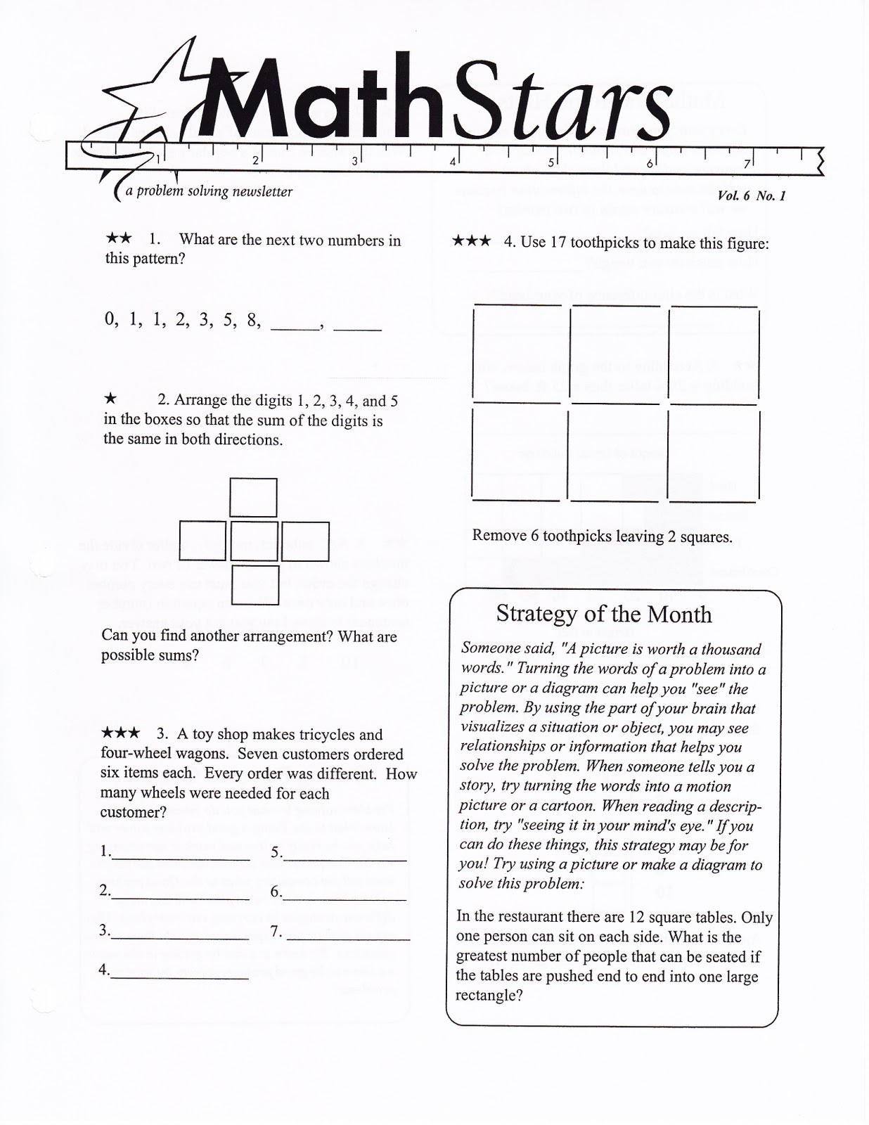 Math Fun Worksheets For Kids
