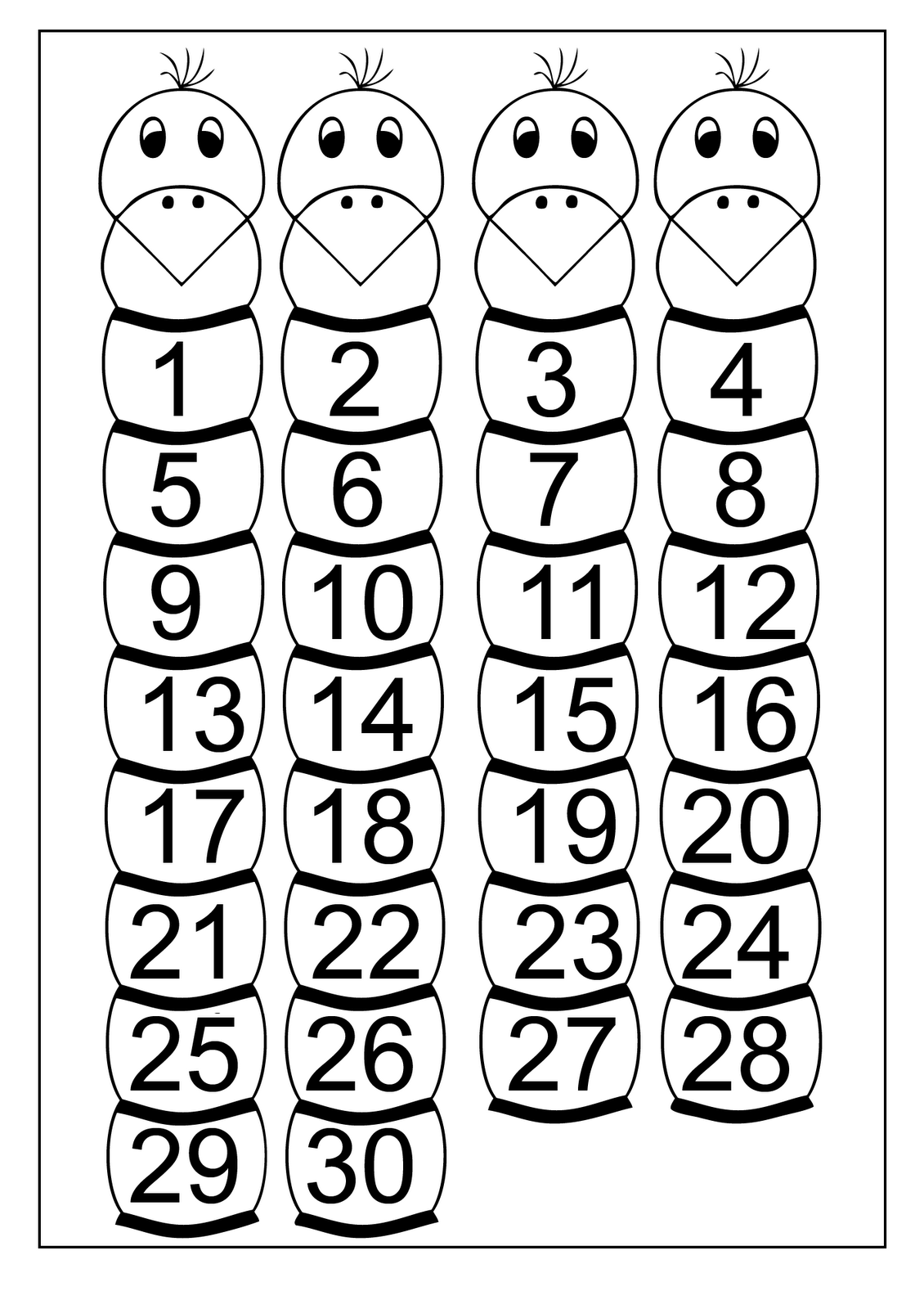 Ordinal Numbers Worksheet Up To 20