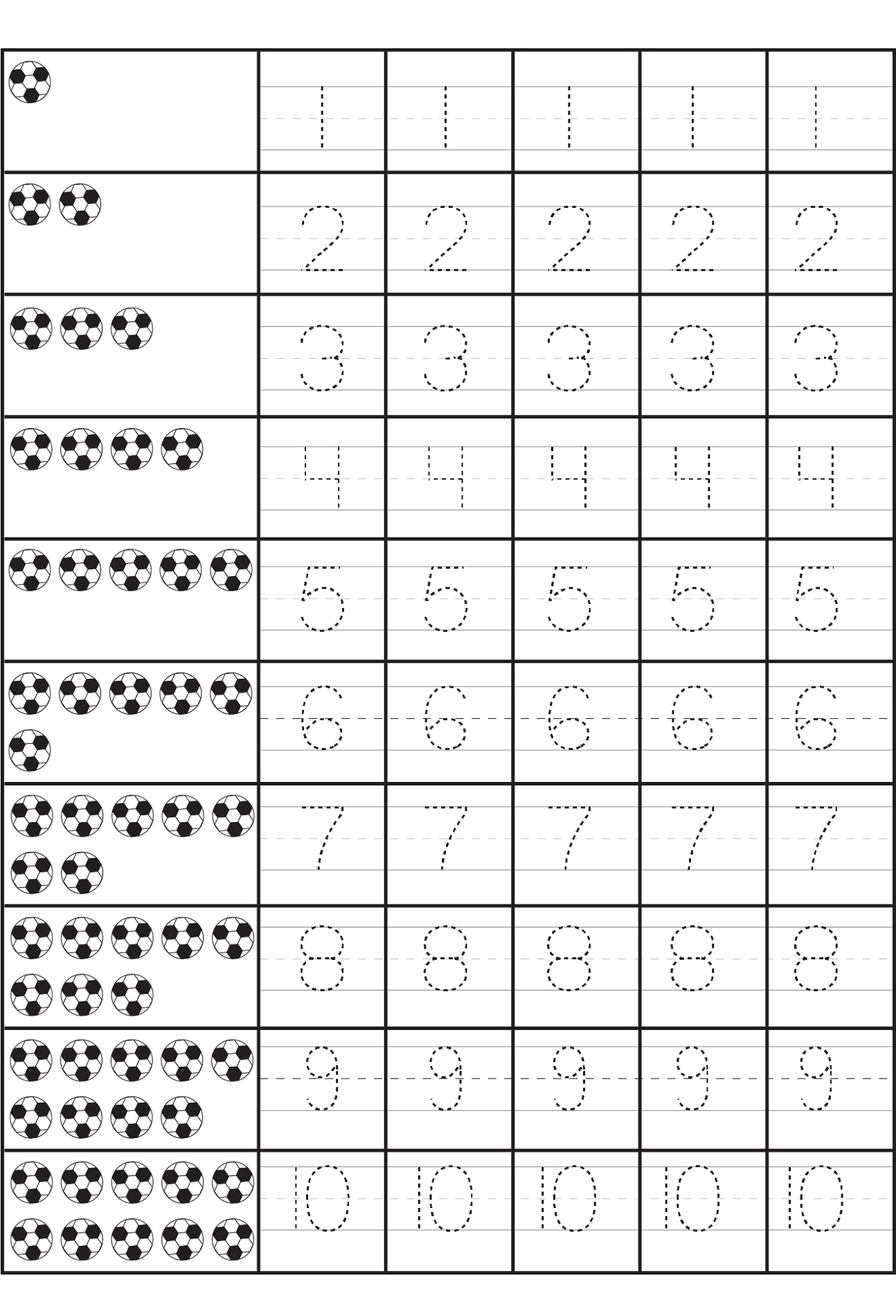 Printables Number Practice Sheets Messygracebook