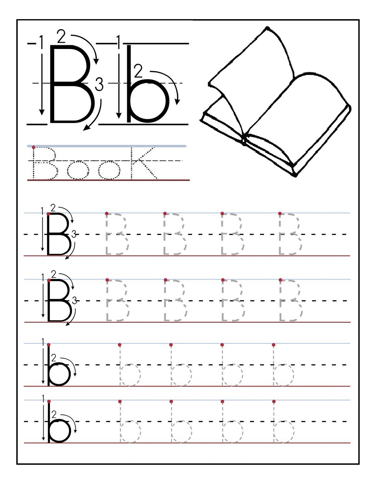 Preschool Letter Worksheet