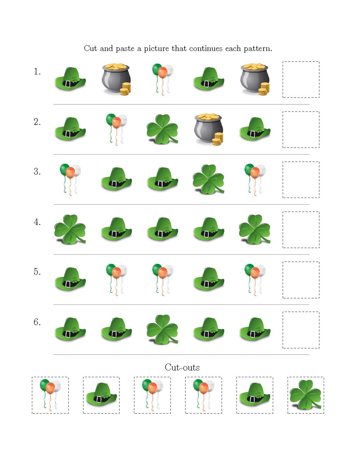Printable Same And Different Worksheets