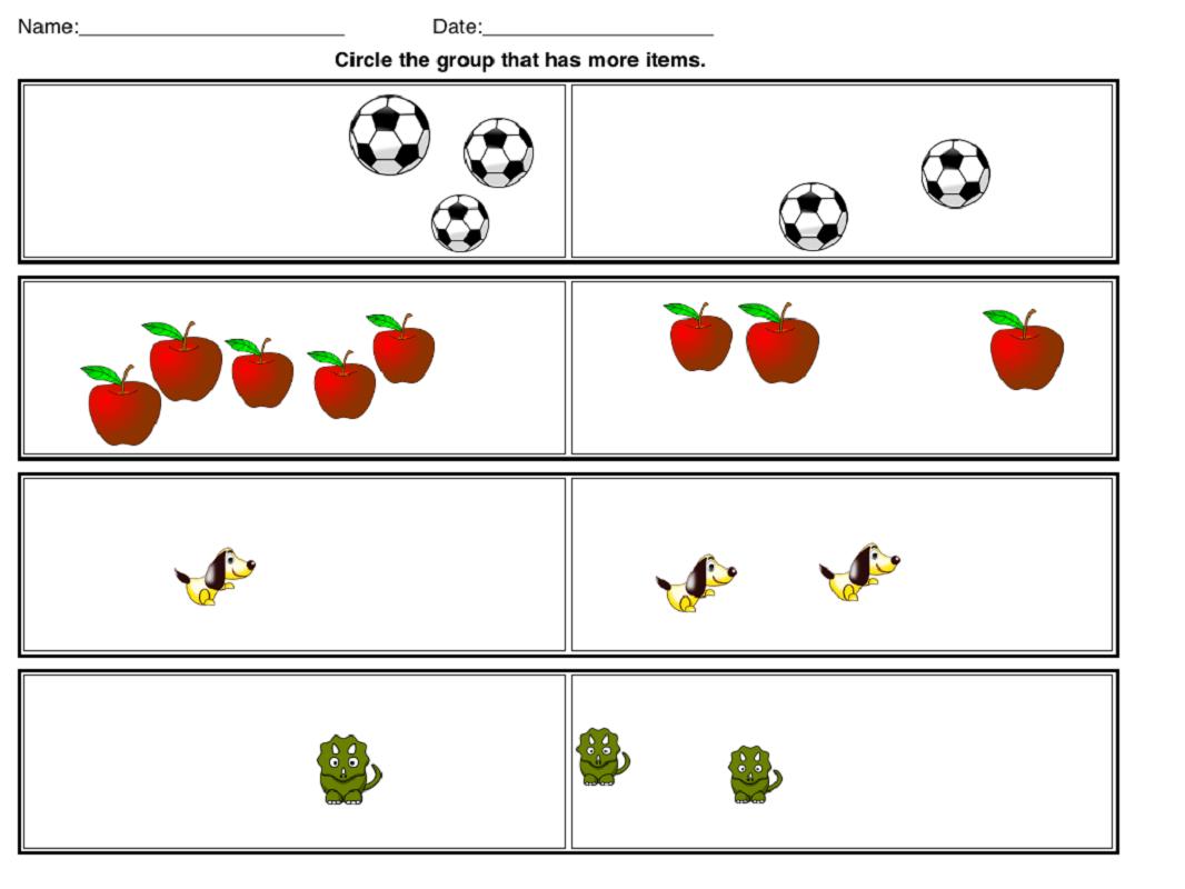 Math Worksheets Images For Kids