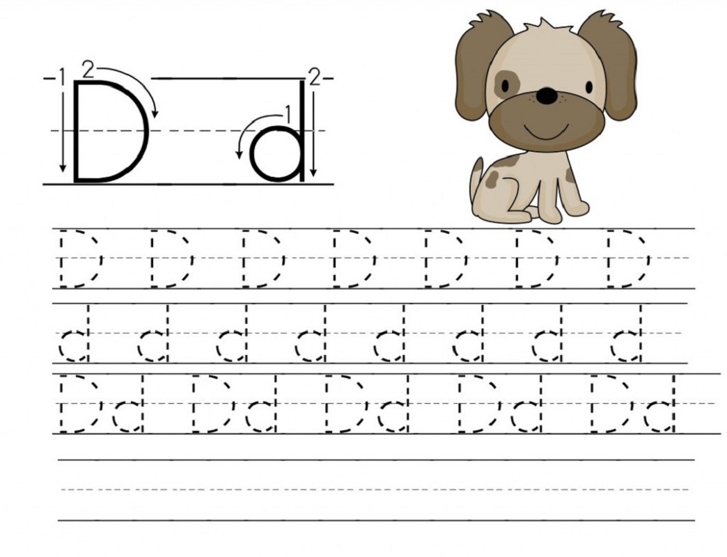 Free Toddler Worksheet To Print Out