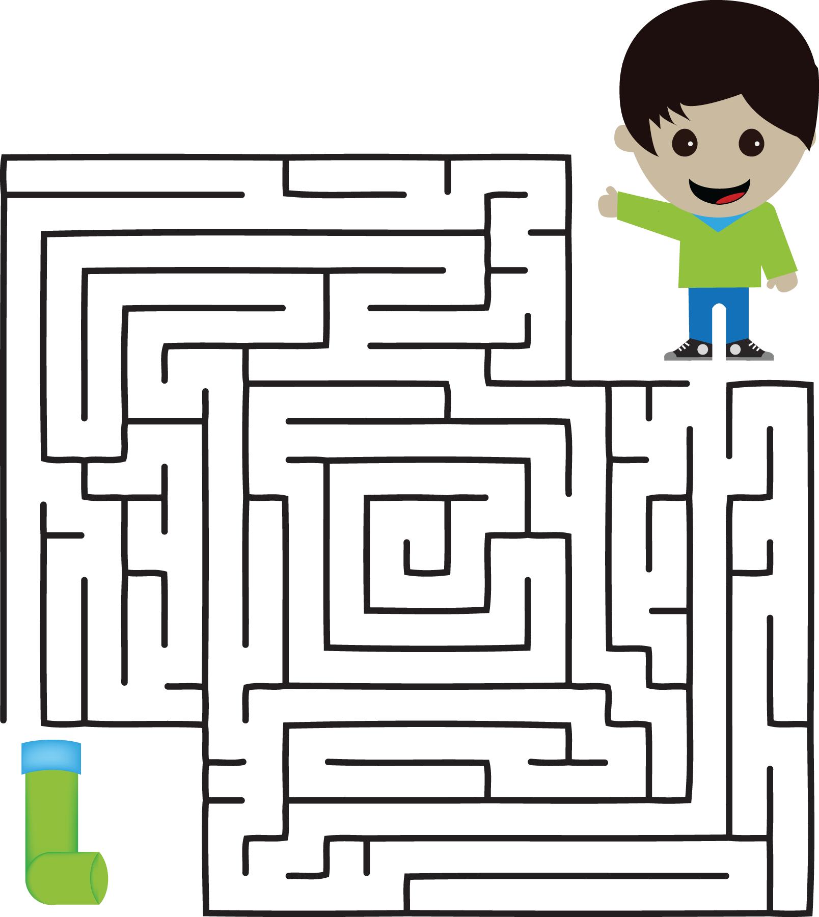 Free Kids Mazes