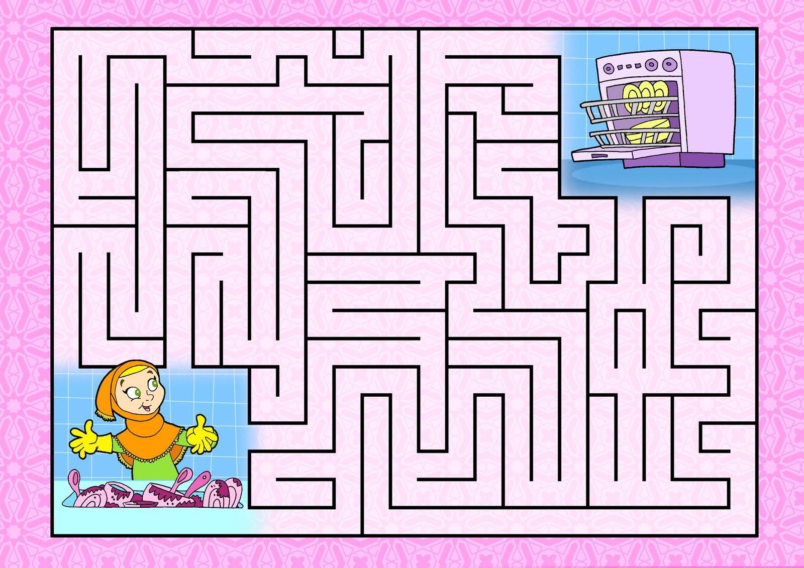 Easy Mazes For Kids