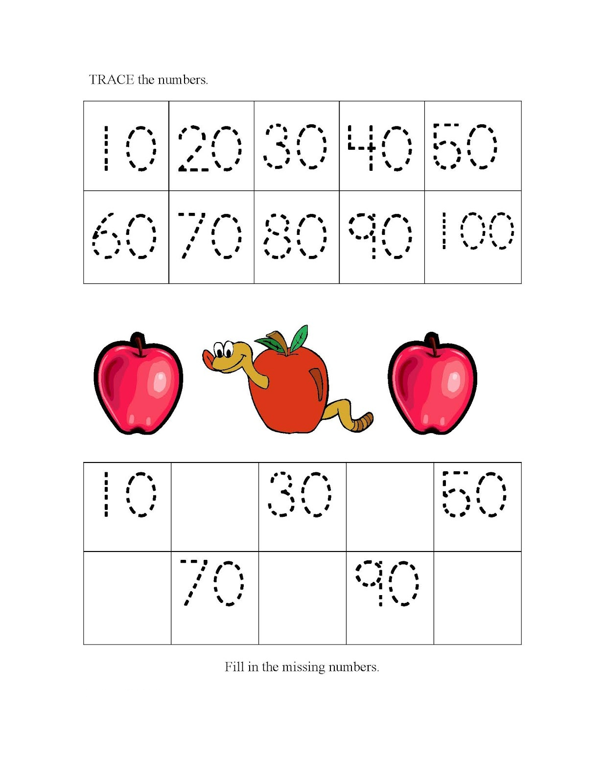 Skip Counting Worksheet 2nd Grade